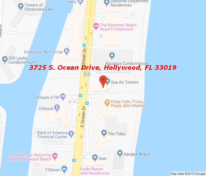 3725 Ocean Dr 1610, Hollywood, Florida, 33019